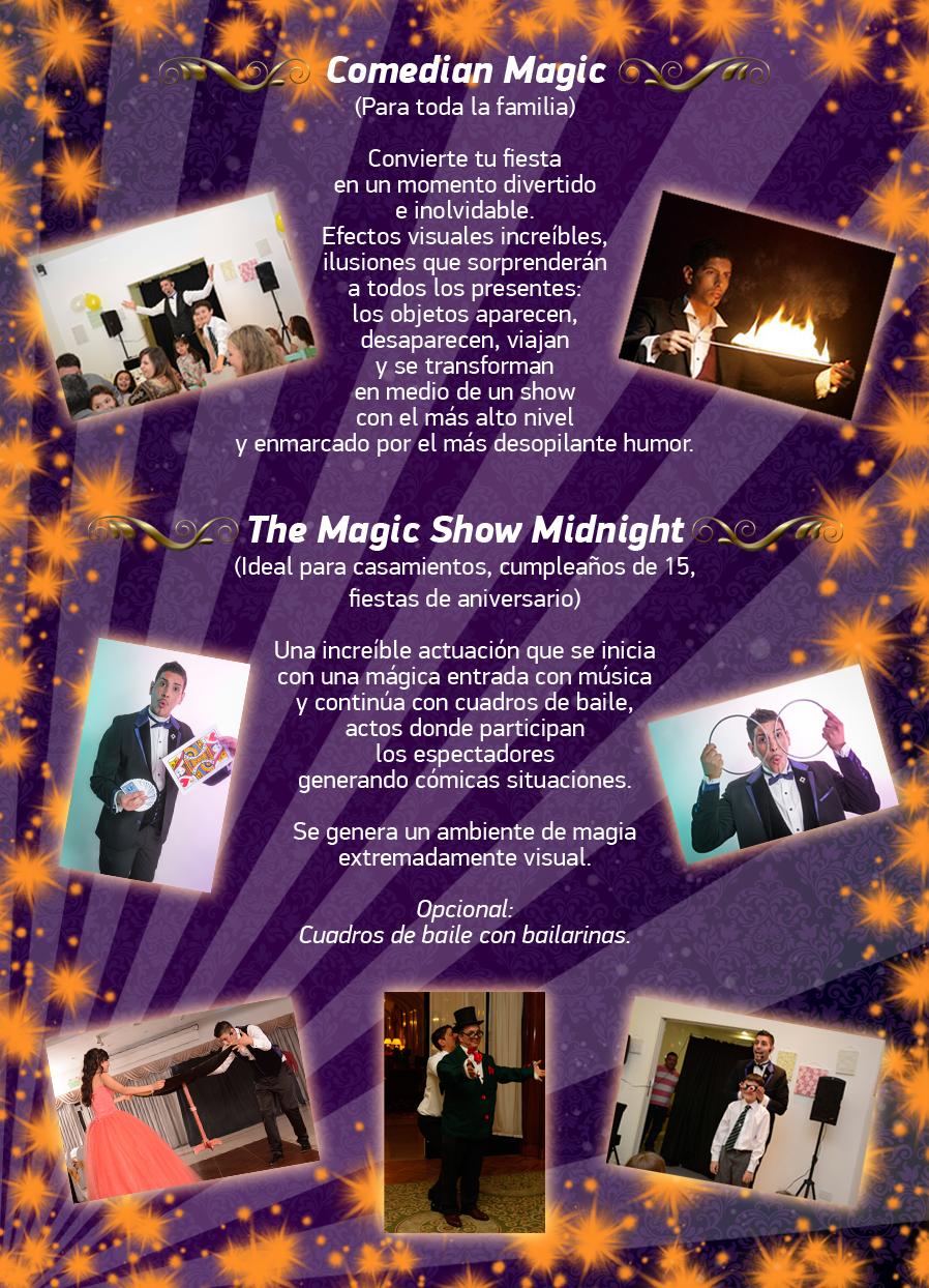 Show para Adultos-Show para Fiestas-Mago Para Casamientos